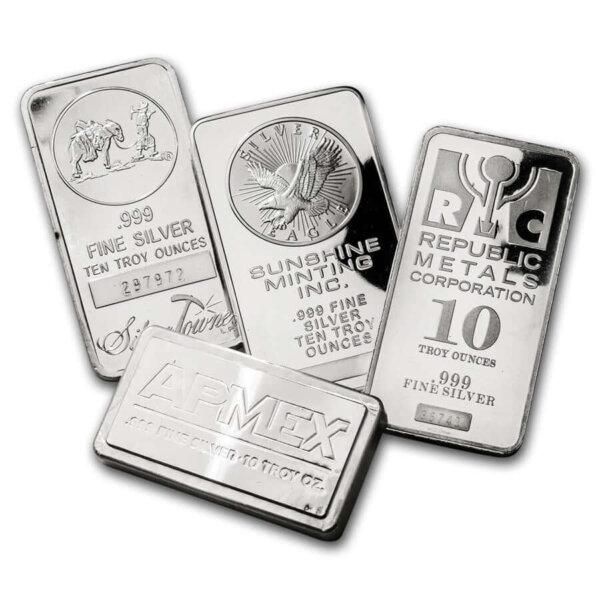 10 oz Silver BAR Secondary Market