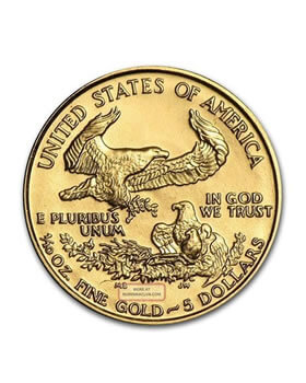 1/10 Oz Gold Coin - American Eagle