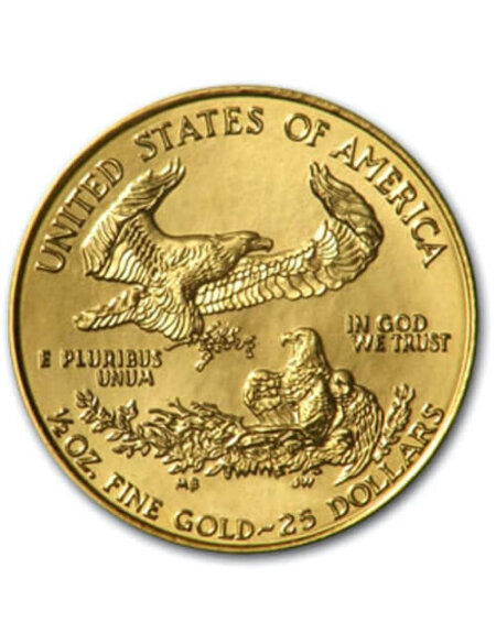 1/2 Oz Gold Coin - American Eagle