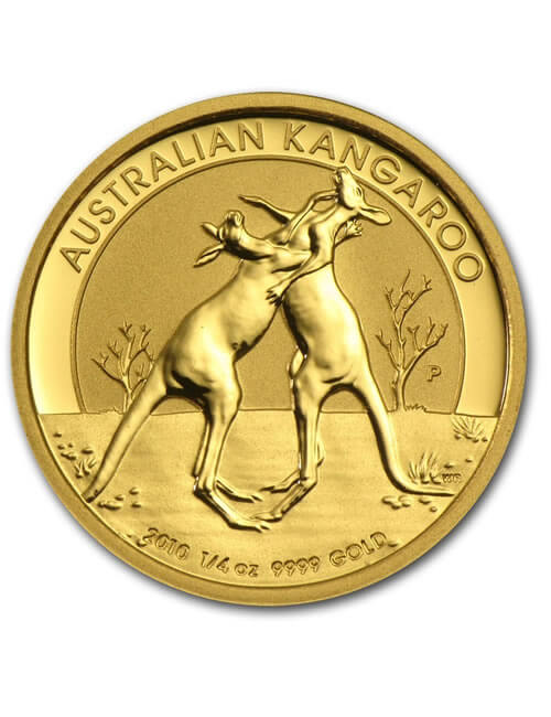 1/4 Oz Gold Coin - Australian Kangaroo
