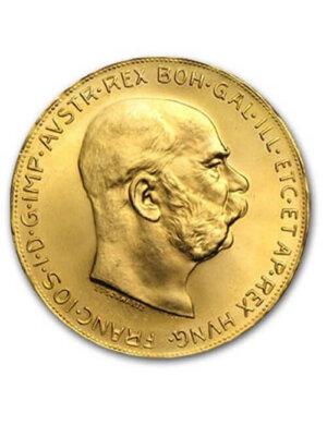 Austrian 100 Coronas Gold Coin
