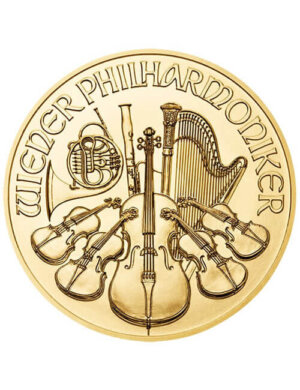 1 Oz Gold Coin - Austrian Philharmonic