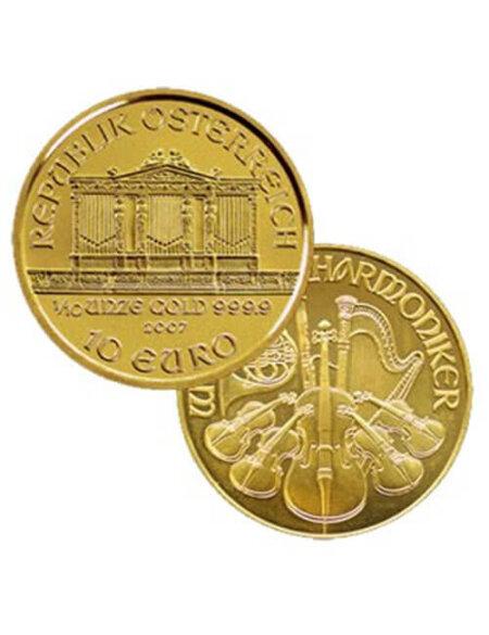1/10 Oz Gold Coin - Austrian Philharmonic