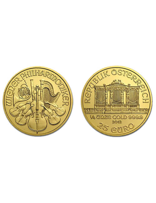 Austrian Philharmonic 1/4 Oz Gold Coin