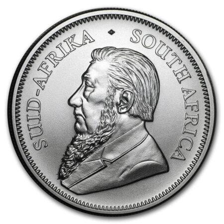2020 South Africa 1 oz Silver Krugerrand BU