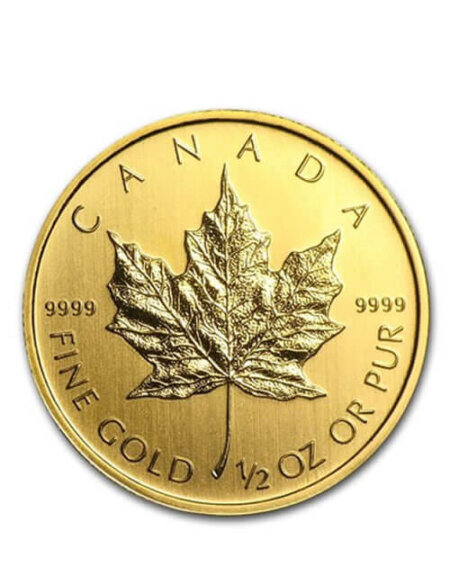 1/2 Oz Gold Coin - Canadian Maple Leaf