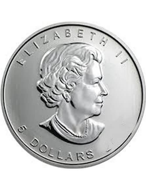 1 Oz Silver Coin - Canadian Maple Leaf