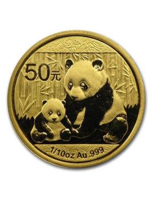 1/10 Oz Gold Coin - Chinese Panda
