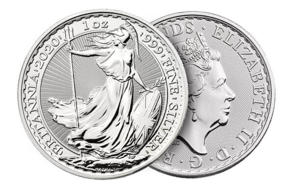 2020 Great Britain 1 oz Silver Britannia