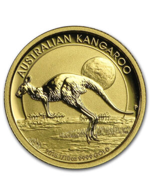 1/10 Oz Gold Coin - Australian Kangaroo