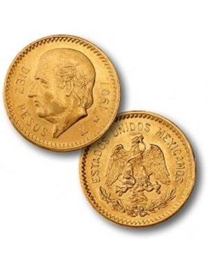10 Pesos Gold Coin - Mexican Peso