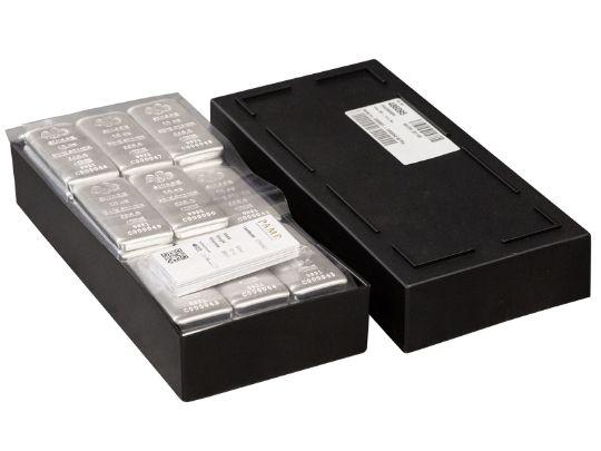 10 oz PAMP Suisse Cast Silver Bars