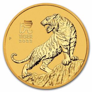 1 oz Lunar Tiger Gold Coin